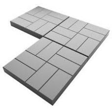 Тротуарная плитка 400х400 мм